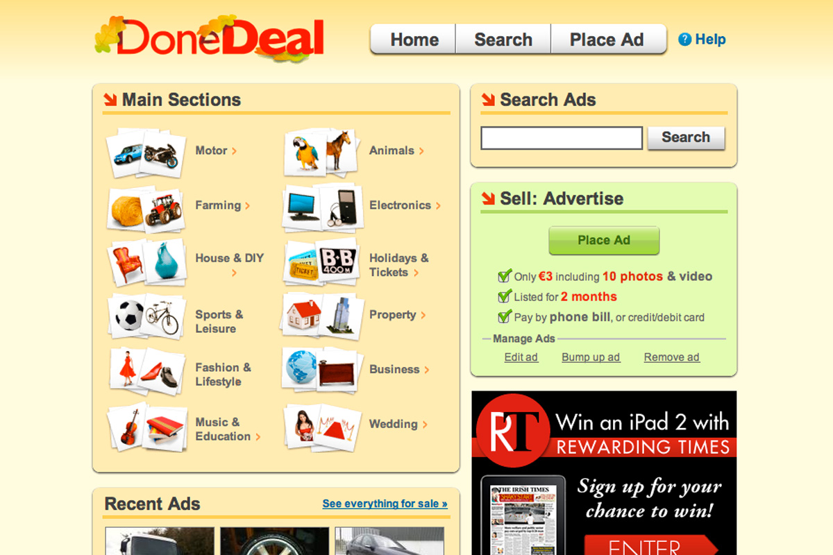 DoneDeal is a household name in Ireland