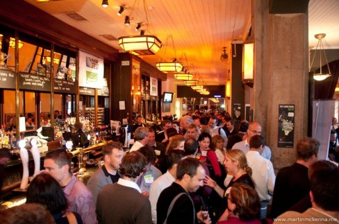 A section of the crowd at this week's Pub Summit