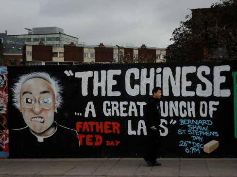The chinese...a great bunch of lads - Father Ted