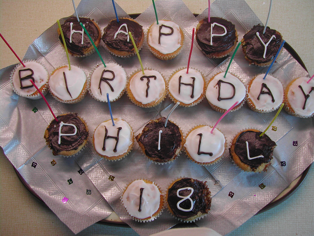 This cake belongs to Phill, not us. Ours is much larger.