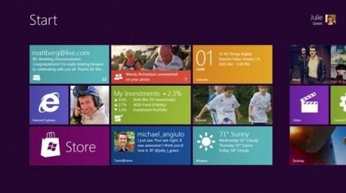 "New Windows 8 tablet-friendly ""Metro"" mode"