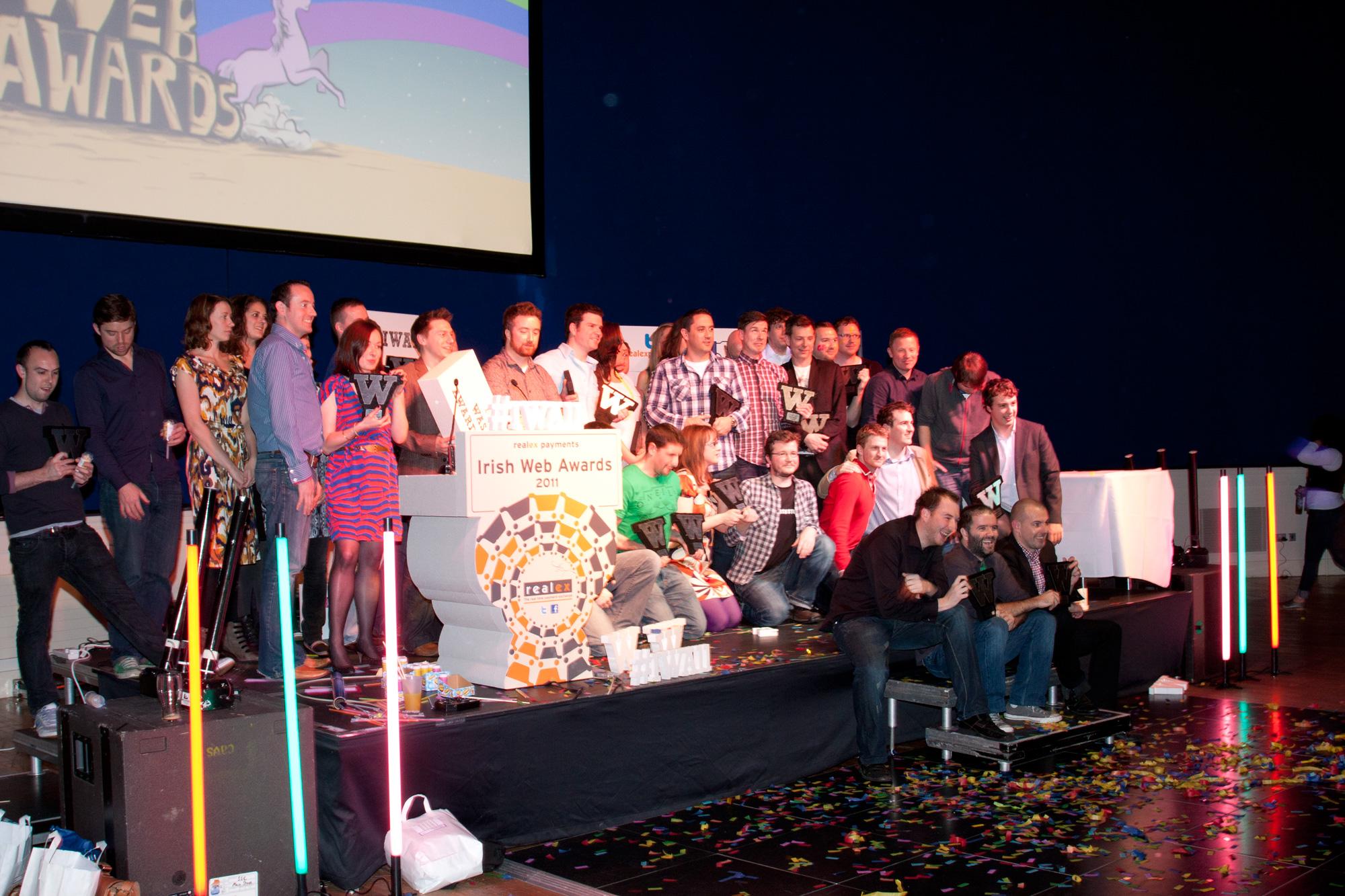 2011 Irish Web Awards Winners