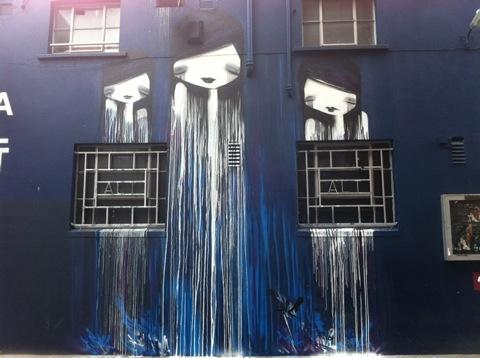 DMC artwork for Dublin Contemporary's Roadworks 2011