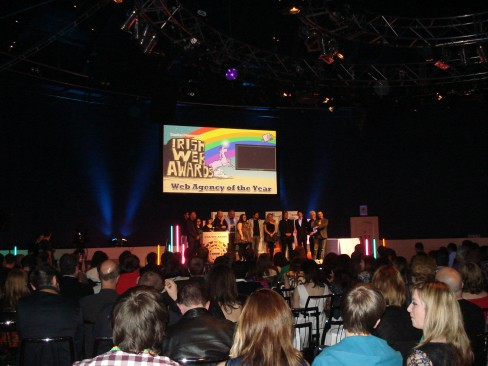 The team behind the Irish Web Awards