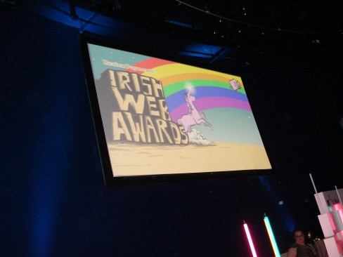 Brilliant graphics for the awards