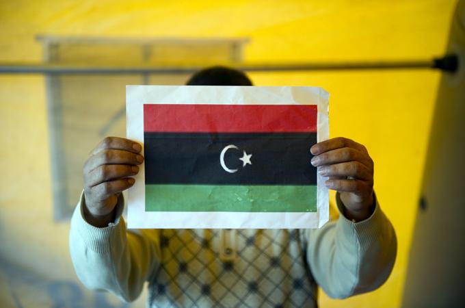 Libya's new flag
