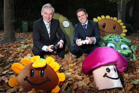 Richard Bruton, Ireland's Minister for Jobs and Martin Shanahan, Chief Executive of Forfás