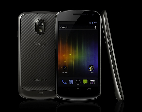 Samsung Galaxy Nexus: The first phone to run Android 4.0