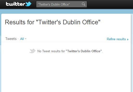 Twitter's Dublin offices