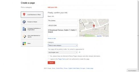 Google+ Places