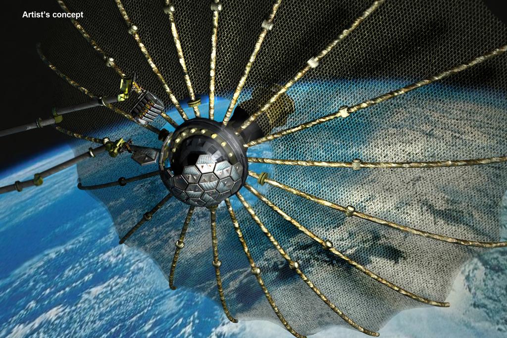 Phoenix artist's concept. Credit: DARPA