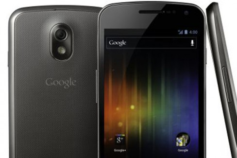 Samsung Galaxy Nexus is the first device to run Android's Ice Cream Sandwich