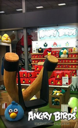 Angry Birds' store opening