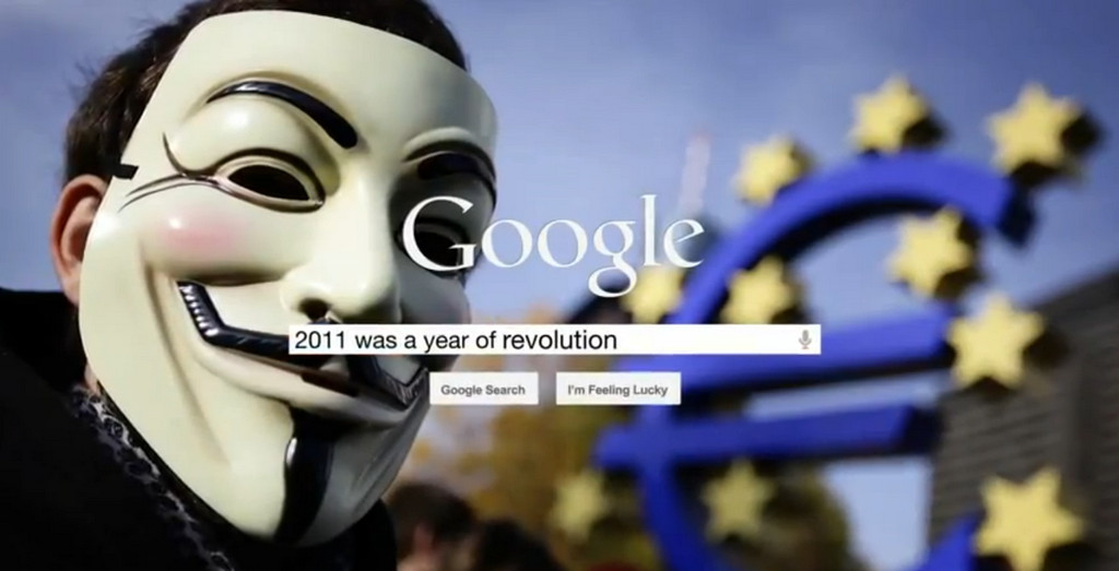 2011 trends via Google