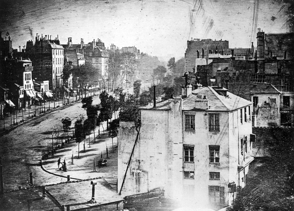 Boulevard du Temple by Louis Daguerre