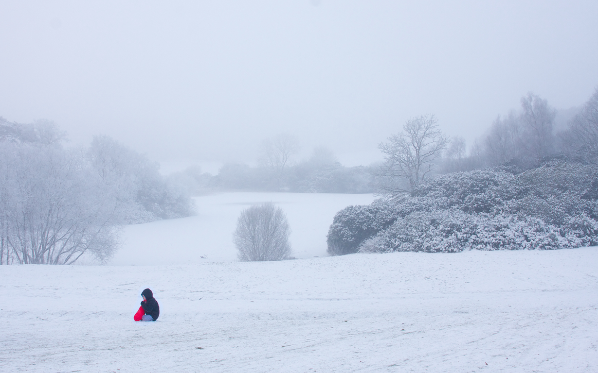A Irish winter 2010/2011 scene. Credit: Darren McCarra/The Sociable