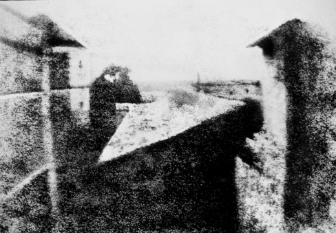 View from the Window at Le Gras by Joseph Nicéphore Niépce