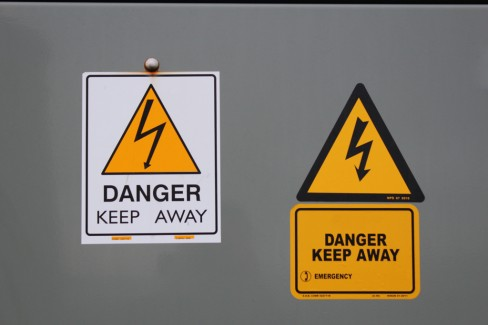 Danger signs