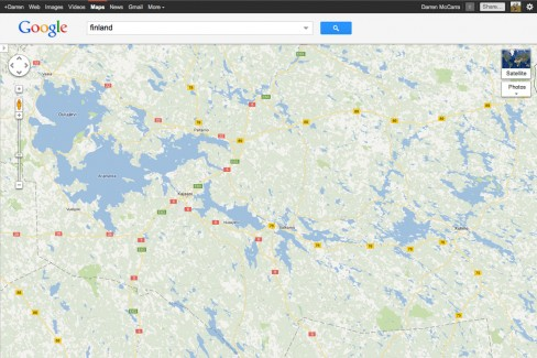 Highly accurate water body data in Finland