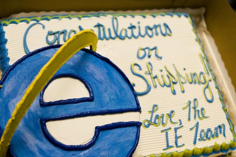 IE7 has a market share of around 4%