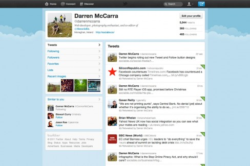 "Twitter's new design will be rolled out to all in a ""few weeks"""