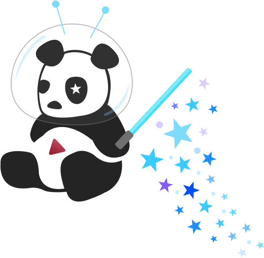 YouTube's Cosmic Panda