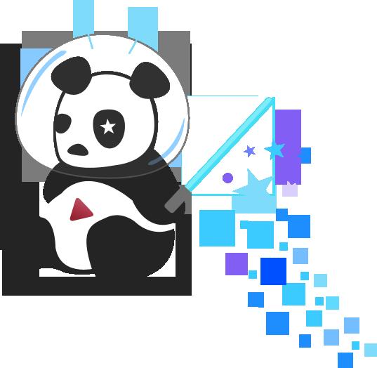 YouTube's Cosmic Panda