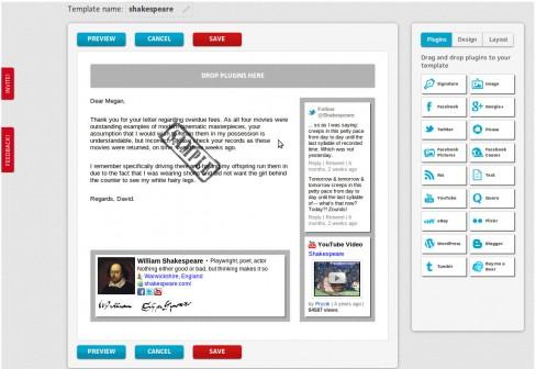 BrandMyMail template