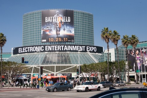 E3 2012 takes place in the Los Angeles Convention Centre