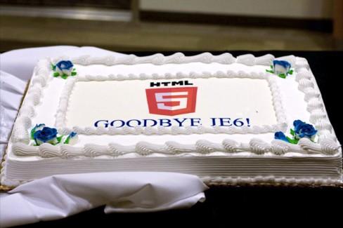 Goodbye IE6