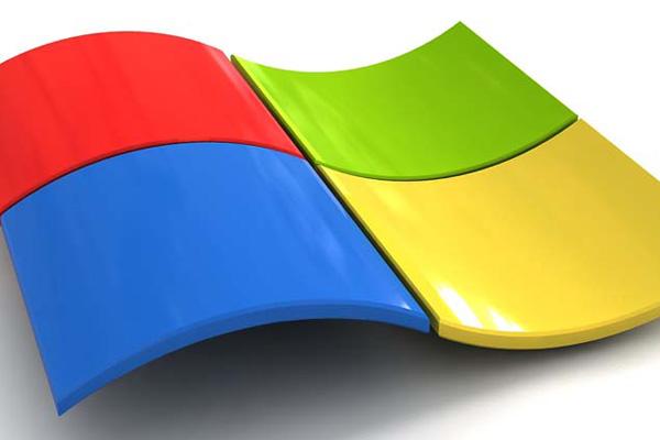 3D Windows concept logo