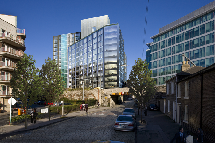 Google Docks building on Dublin's Barrow Street