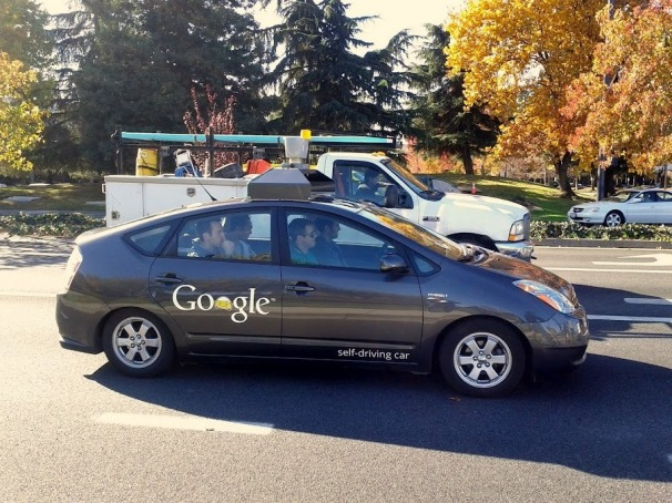 One of Google's self-driving cars