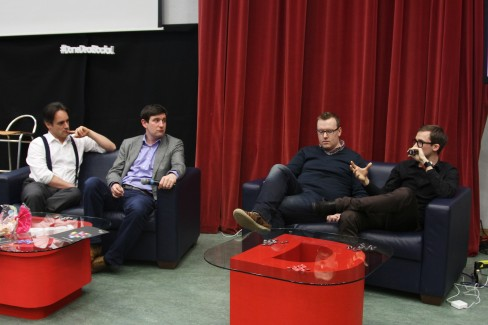 Afternoon discussion panel: Future of measurement, featuring Mat Morrison, Charlie Ardagh, Barry Hand and Kieran Flanagan