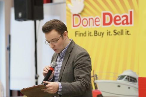 Event organiser Damien Mulley