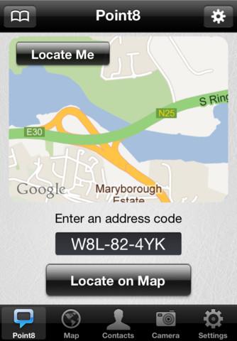 Point8 iOS app