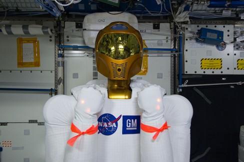 NASA's Robonaut, via Flickr