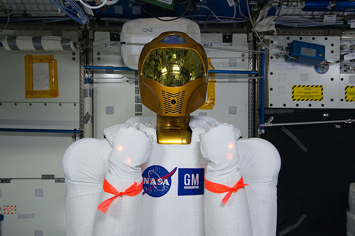 NASA's Robonaut, via Flickr