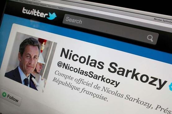 Nicolas Sarkozy joins Twitter