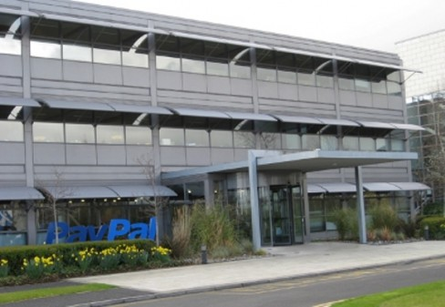 PayPal's HQ in Blanchardstown, Dublin