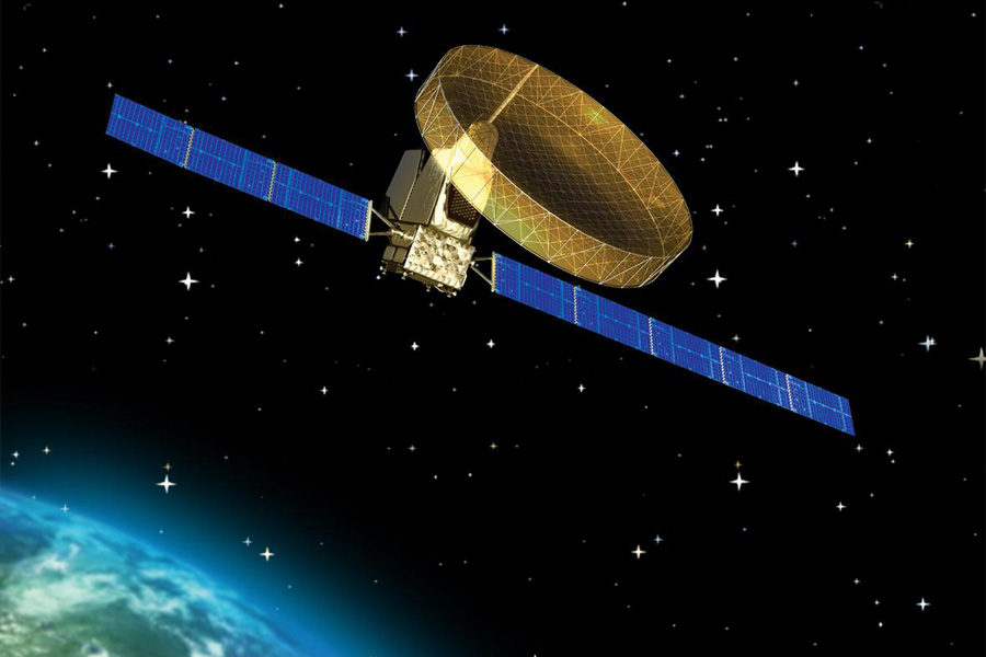 Thuraya satellite illustration