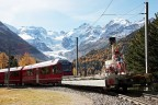 Albula/Bernina railway with Street View Trike