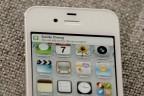 Apple's Siri on White iPhone