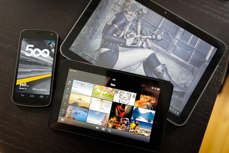 500px Android collection