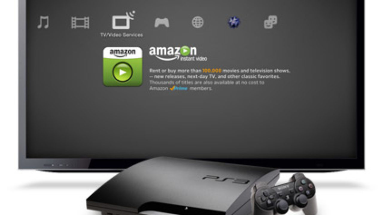 Amazon's video service now available on PlayStation 3