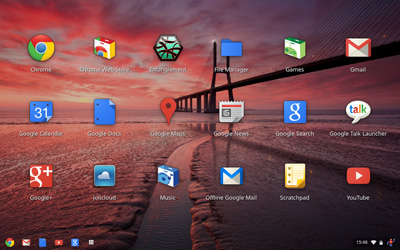 Chrome OS, version 19