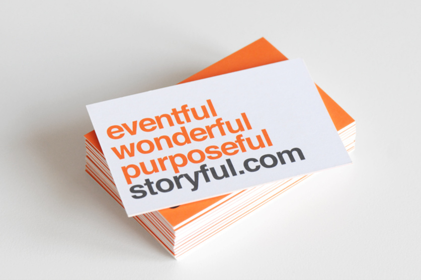 Storyful business card