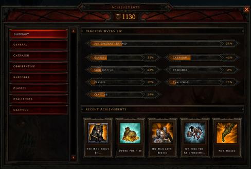 Diablo 3 Achievements