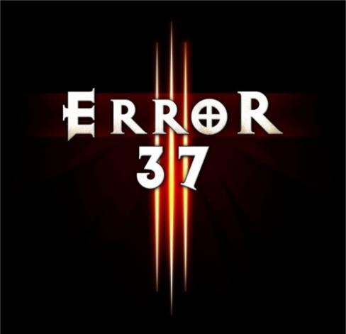 Diablo Error 37