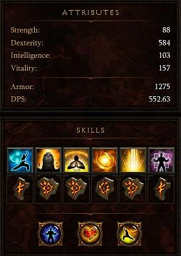 Diablo Skills
